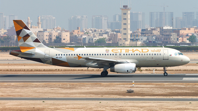 A6-EIF - Airbus A320-232 - Etihad Airways