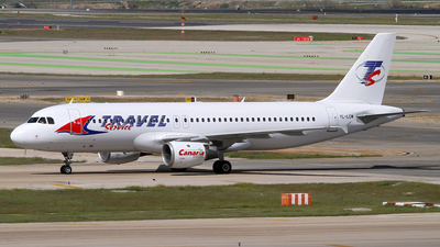 YL-LCM - Airbus A320-211 - Travel Service (SmartLynx Airlines)