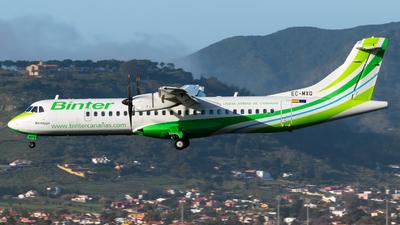 EC-MXQ - ATR 72-212A(600) - Binter Canarias