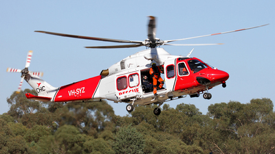 A picture of VHSYZ - AgustaWestland AW139 - CHC Helicopters Australia - © Wal Nelowkin