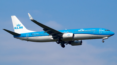 A picture of PHBXG - Boeing 7378K2 - KLM - © JakkoFly