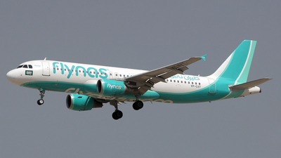 VP-CXT - Airbus A320-214 - Flynas