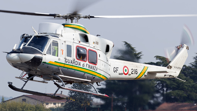 MM81504 - Bell 412HP - Italy - Guardia di Finanza