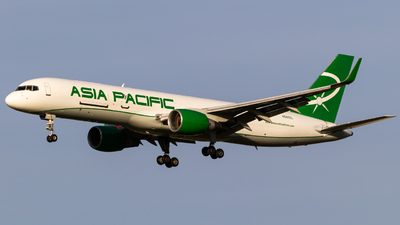 A picture of N688SL - Boeing 757230(PCF) - Asia Pacific Airlines - © Alex Crail