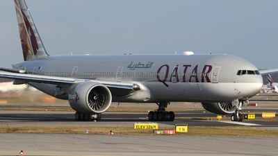 A7-BEQ - Boeing 777-3DZER - Qatar Airways