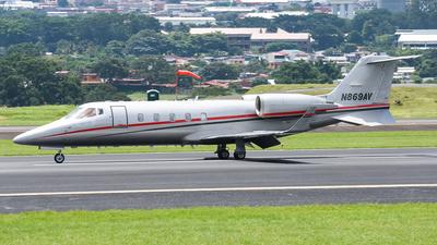 A picture of N869AV - Learjet 60 - [60306] - © Dario Duque Gomez