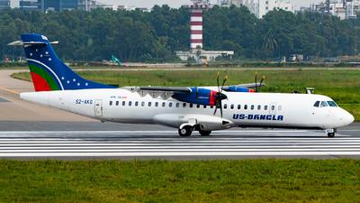 S2-AKG - ATR 72-212A(600) - US-Bangla Airlines