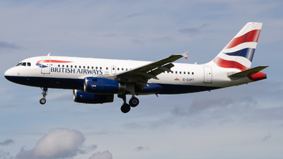 A picture of GEUPT - Airbus A319131 - British Airways - © Ethan Sewell