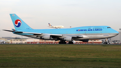 HL7608 - Boeing 747-4B5(BCF) - Korean Air Cargo