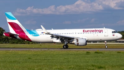 A picture of DAEWJ - Airbus A320214 - Eurowings - © Jan Rosskamp
