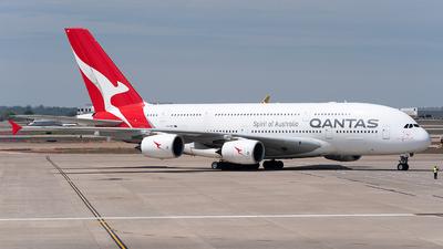 VH-OQF - Airbus A380-842 - Qantas