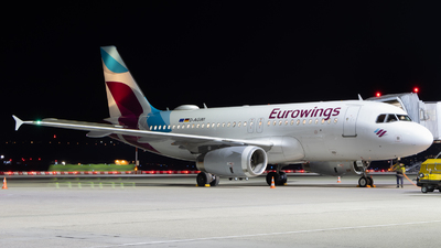A picture of DAGWI - Airbus A319132 - Eurowings - © Justin Stöckel