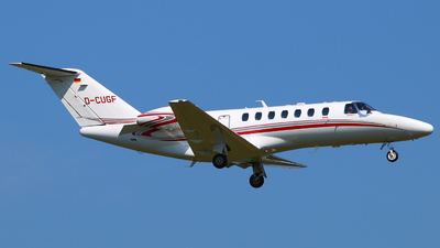 A picture of DCUGF - Cessna 525B CitationJet CJ3+ -  - © Andreas Fietz