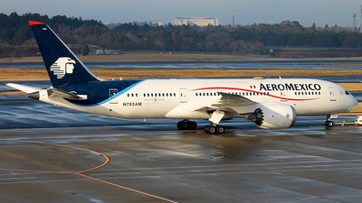 A picture of N783AM - Boeing 7878 Dreamliner - Aeromexico - © JFrag
