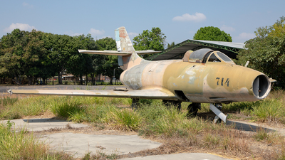 714 - Dassault MD.450 Ouragan - El Salvador - Air Force