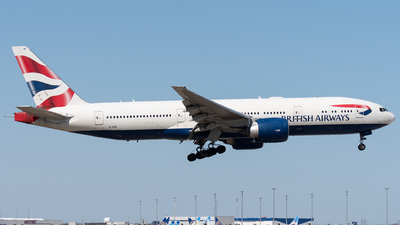 A picture of GVIIA - Boeing 777236(ER) - British Airways - © bill wang