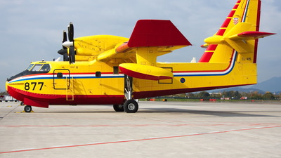 877 - Canadair CL-415 - Croatia - Air Force