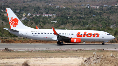 PK-LSF - Boeing 737-8GP - Lion Air