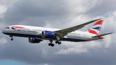 G-ZBJJ - Boeing 787-8 Dreamliner - British Airways