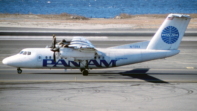 N172RA - De Havilland Canada DHC-7-102 Dash 7 - Pan Am Express