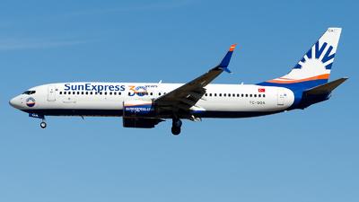 A picture of TCSOA - Boeing 7378HC - SunExpress - © Alp AKBOSTANCI