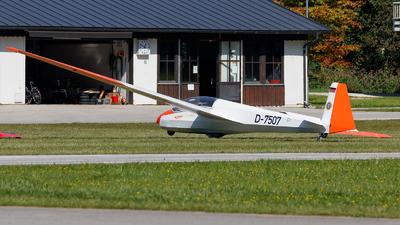 D-7507 - Schleicher ASK-13 - Deutsche Alpensegelflugschule Unterwössen