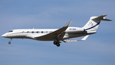 VQ-BAH - Gulfstream G650ER - Private