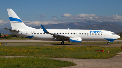 SP-ENU - Boeing 737-83N - Enter Air
