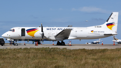 G-BUUR - British Aerospace ATP-F(LFD) - West Atlantic Airlines