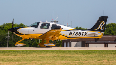 N786TX - Cirrus SR22T - Private