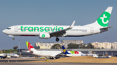 F-HTVF - Boeing 737-8K2 - Transavia France