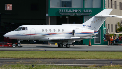 N58BL - British Aerospace BAe 125-800A - Private