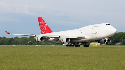 OM-ACJ - Boeing 747-433(BDSF) - Air Cargo Global