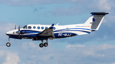 SE-MJJ - Beechcraft B200GT Super King Air - Babcock Scandinavian AirAmbulance
