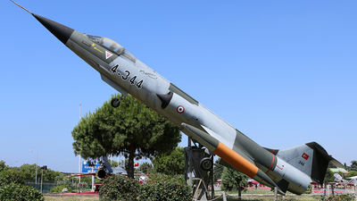 62-12344 - Lockheed F-104G Starfighter - Turkey - Air Force