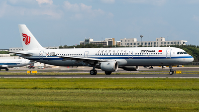 A picture of B6556 - Airbus A321213 - Air China - © Gao Yupeng