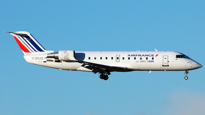 F-GRJQ - Bombardier CRJ-100ER - Air France (Brit Air)