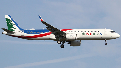 T7-ME1 - Airbus A321-271NX - Middle East Airlines (MEA)