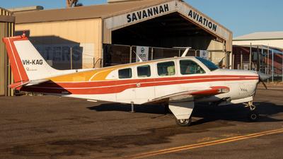 VH-KAG - Beech A36 Bonanza - Private