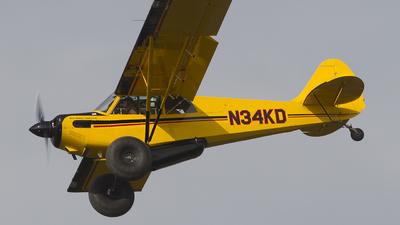 A picture of N34KD - Aviat A1C180 Husky - [3033] - © Alex