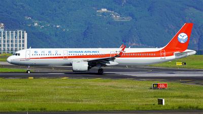 B-8599 - Airbus A321-271N - Sichuan Airlines