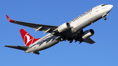 TC-JVA - Boeing 737-8F2 - Turkish Airlines