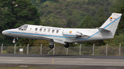 FAC1211 - Cessna 550 Citation II - Colombia - Air Force