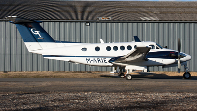 M-ARIE - Beechcraft B200GT Super King Air - Private