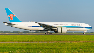 A picture of B2026 - Boeing 777F1B - China Southern Airlines - © Tim Richter