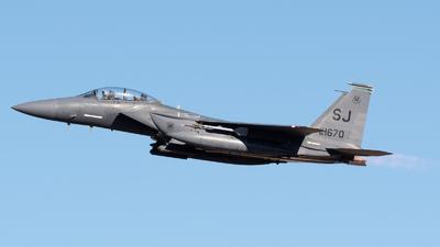 88-1670 - Boeing F-15E Strike Eagle - United States - US Air Force (USAF)