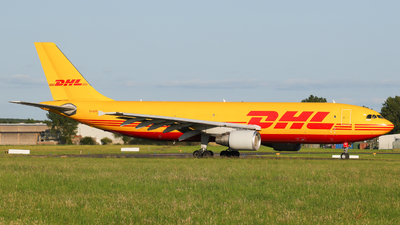 A picture of EIEXR - Airbus A300B4622R(F) - DHL - © ShaneO'Connor