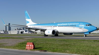 A picture of LVGVB - Boeing 737887 - Aerolineas Argentinas - © Cris.Spotter.mg