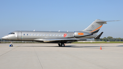 D-AHGN - Bombardier BD-700-1A10 Global 6000 - Private