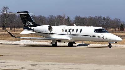 N70NJ - Bombardier Learjet 70 - Private